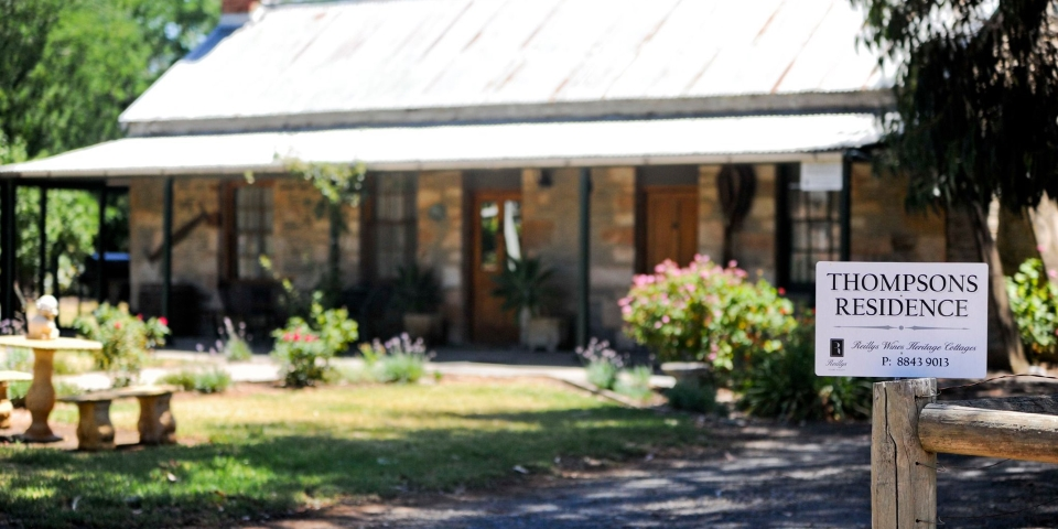 Reillys Wines Heritage Cottages - Thompsons Residence - Mintaro - 1