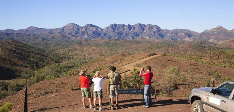 Wilpena Pound Resort Tours - 4 Hour Time Travel & Gorgeous Gorges - 3