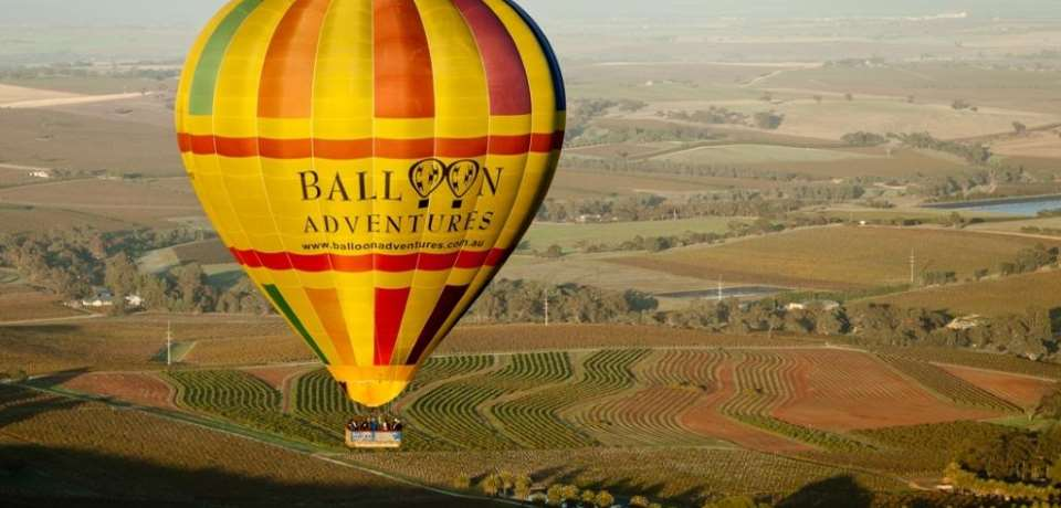 Barossa Balloon Adventures - 1 Hour Sunrise Balloon Flight - N2