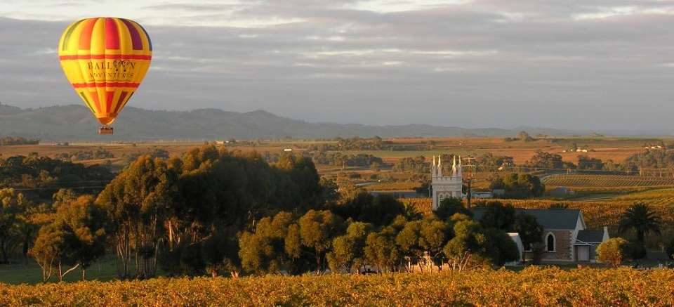 Barossa Balloon Adventures - 1 Hour Sunrise Balloon Flight - N1